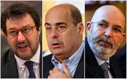 Sondaggi politici, Supermedia YouTrend per Agi: Lega, Pd e M5s in calo