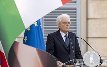 """Mafia, Mattarella: """"Coscienza pubblica ripudi ogni violenza"""""""