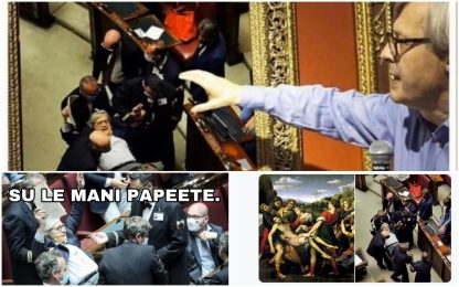 Sgarbi cacciato dall'Aula: i meme più divertenti sui social. FOTO