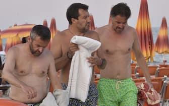 Salvini al Papeete