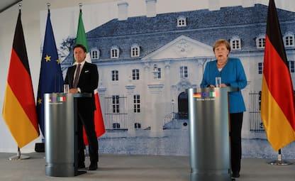 Incontro Conte-Merkel: Ue offra soluzioni, non illusioni