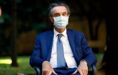 """Covid Lombardia, Fontana: """"Pronti a fare ricorso contro la zona rossa"""""""