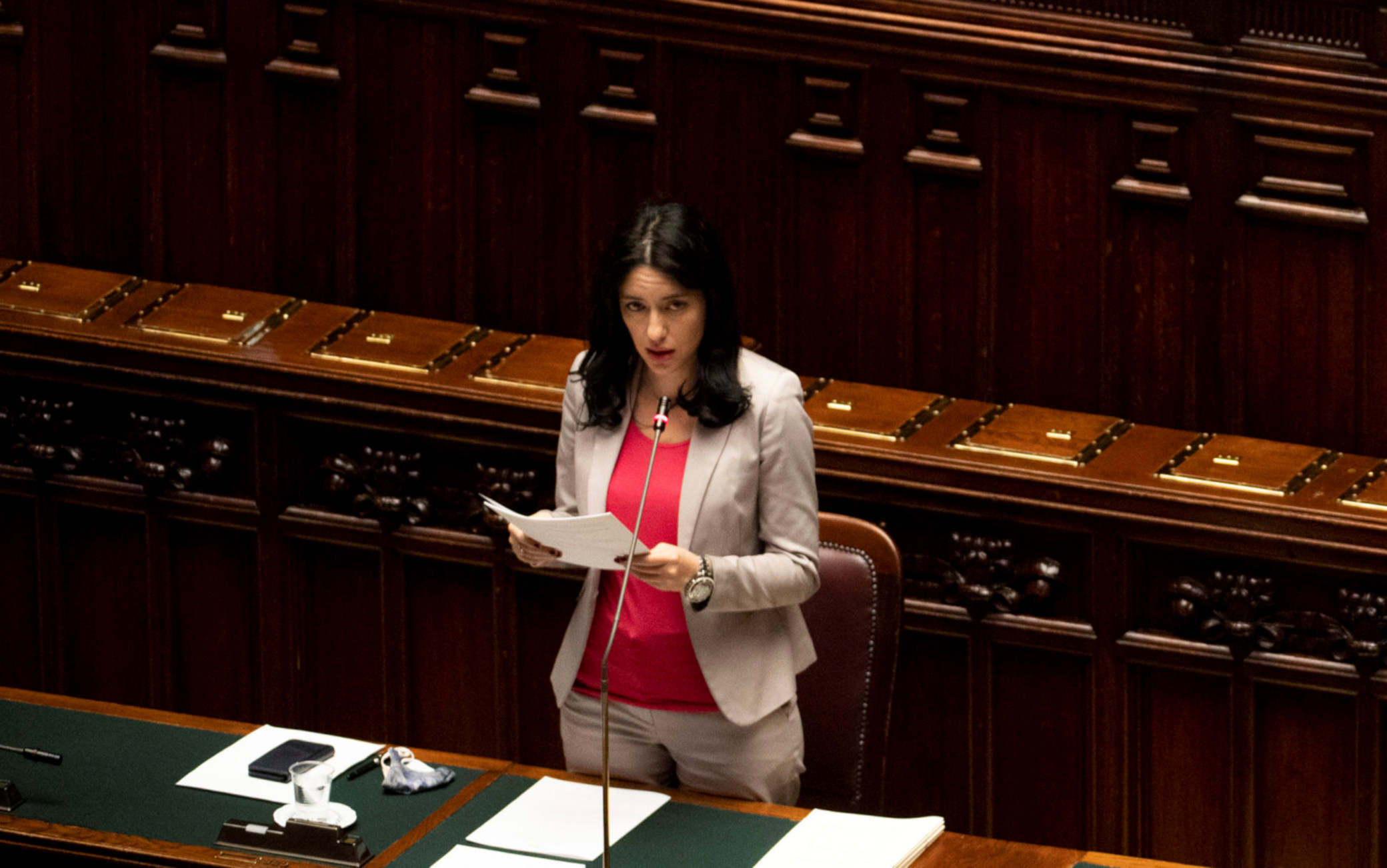 Ministra Lucia Azzolina