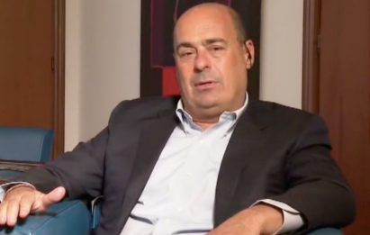 """Vaccino, Zingaretti: """"Record di 57mila dosi, ora replica Open Day"""""""