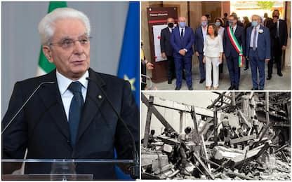 """Strage di Bologna, Mattarella: """"Esigenza di piena verità e giustizia"""""""