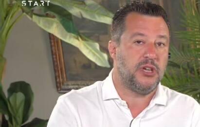 """Matteo Salvini a Sky TG24: """"Sul Quirinale possibile accordo con M5s"""""""
