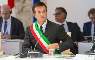 Il sindaco di Bergamo Giorgio Gori. ANSA/COMUNE DI BERGAMO