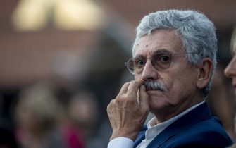 ROME, ITALY - SEPTEMBER 19: Massimo D'Alema takes part in a labor party organized by the left wing political party Articolo 1 - Mdp, on September 19, 2019 in Rome, Italy. (Photo by Antonio Masiello/Getty Images)