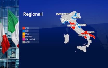 Risultati referendum ed elezioni regionali e comunali 2020: grafiche