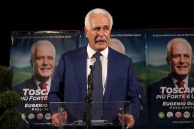 Risultati elezioni Toscana, vince Eugenio Giani