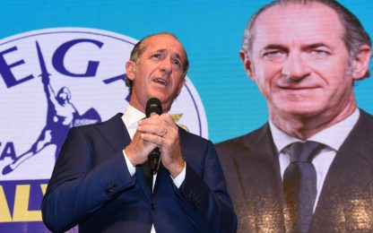 Risultati elezioni Veneto, rieletto Luca Zaia