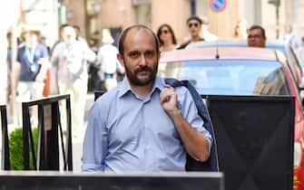 Arrivo di Matteo Orfini alla direzione nazionale del Pd, Roma, 18 giugno 2019. ANSA/ALESSANDRO DI MEO