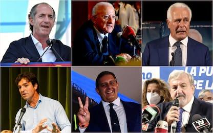 Elezioni Regionali 2020, come hanno festeggiato i presidenti eletti