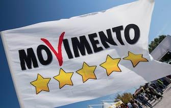 Foto Roberto Monaldo / LaPresse 23-09-2017 Rimini Politica Italia 5 Stelle 2017  Nella foto Militanti M5S  Photo Roberto Monaldo / LaPresse 23-09-2017 Rimini (Italy) Italy Five Stars 2017 In the photo M5S supporters