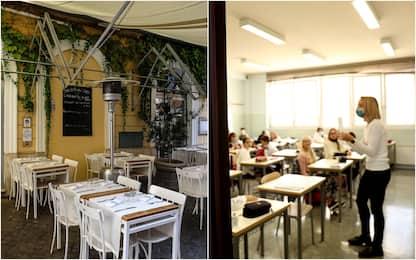 Nuovo Dpcm: verso stop ristoranti a Natale, scuole aperte da 7 gennaio