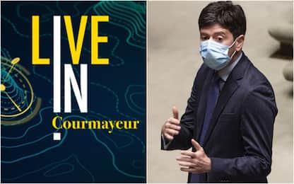 Sky TG24 LIVE IN a Courmayeur,  Speranza: nel 2021 vaccino sicuro