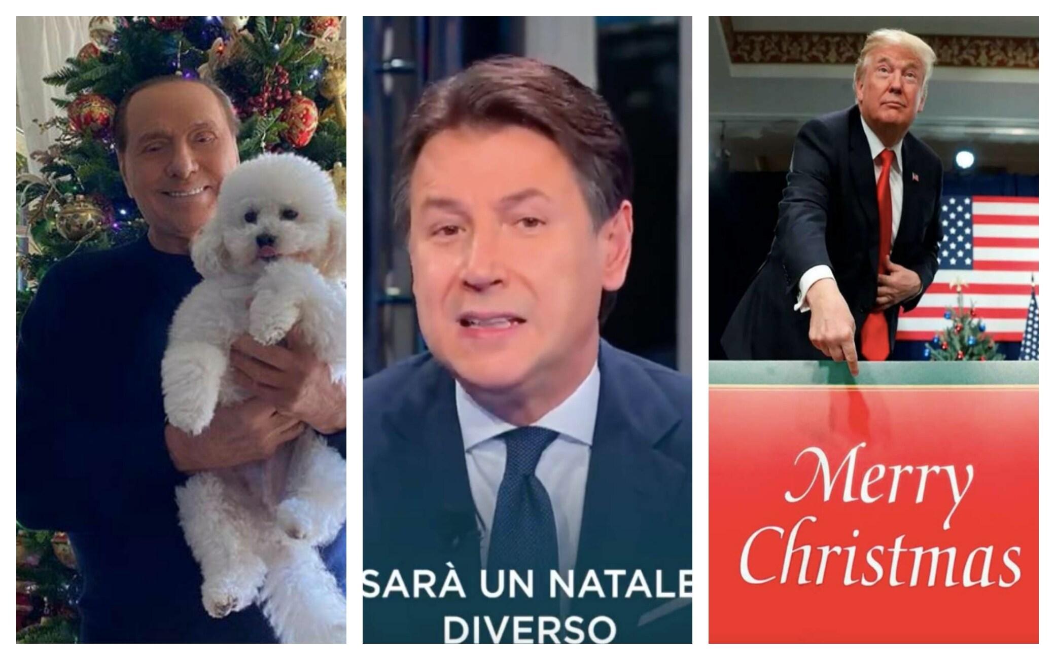 Natale 2020: da Berlusconi a Trump, gli auguri dei politici sui social