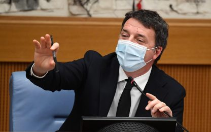 """Renzi: """"Se Conte non prende 161 voti, governo senza di lui"""""""