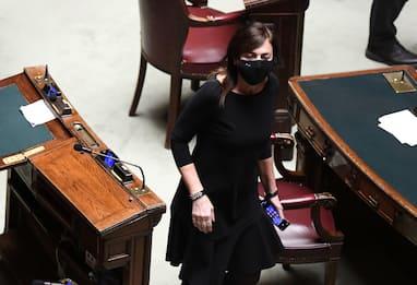 Crisi governo, Renata Polverini vota la fiducia e lascia Forza Italia