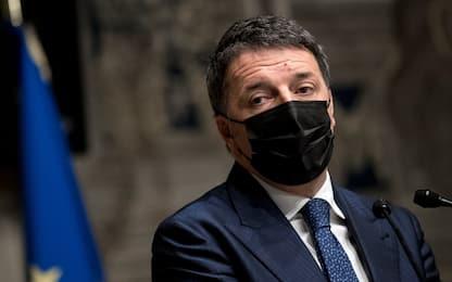 """Crisi governo, Renzi: """"Meglio un governo politico. L'Arabia? Alleato"""""""