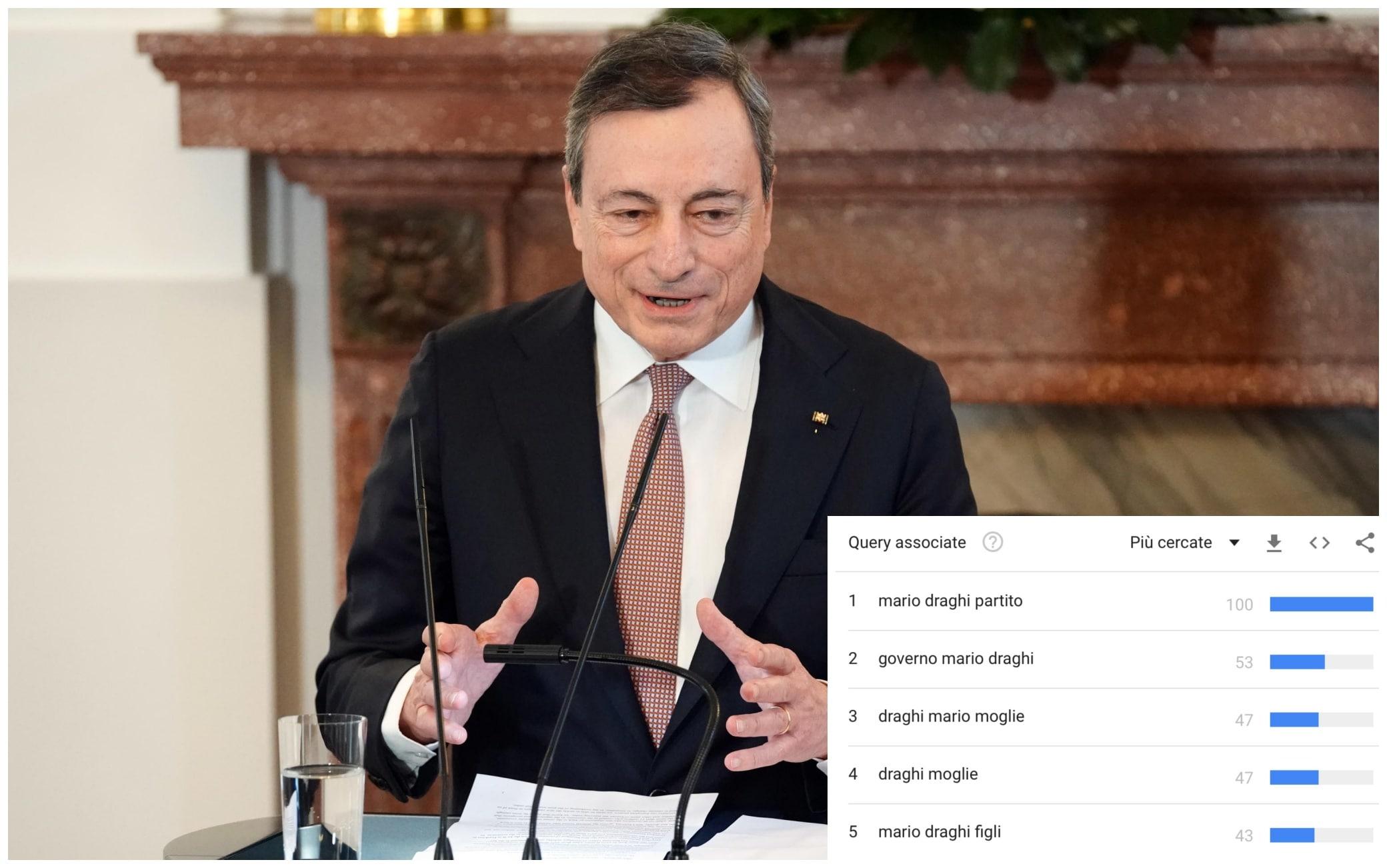 Draghi, dalla moglie allo stipendio: le domande più cercate in Rete