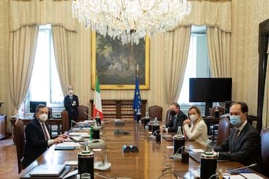 """Consultazioni, Meloni: """"No alla fiducia al governo guidato da Draghi"""""""