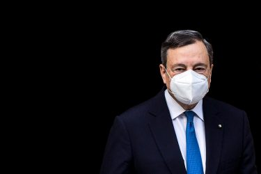 Italian designated-prime minister Mario Draghi leaves his home in Rome, Italy, 04 February 2021. ANSA/ANGELO CARCONI