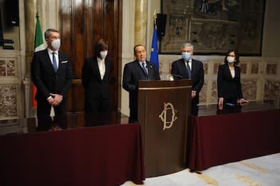 Consultazioni Draghi, Berlusconi: Governo di unità nazionale