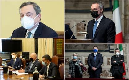 Consultazioni Draghi, le posizioni di parti sociali ed enti locali