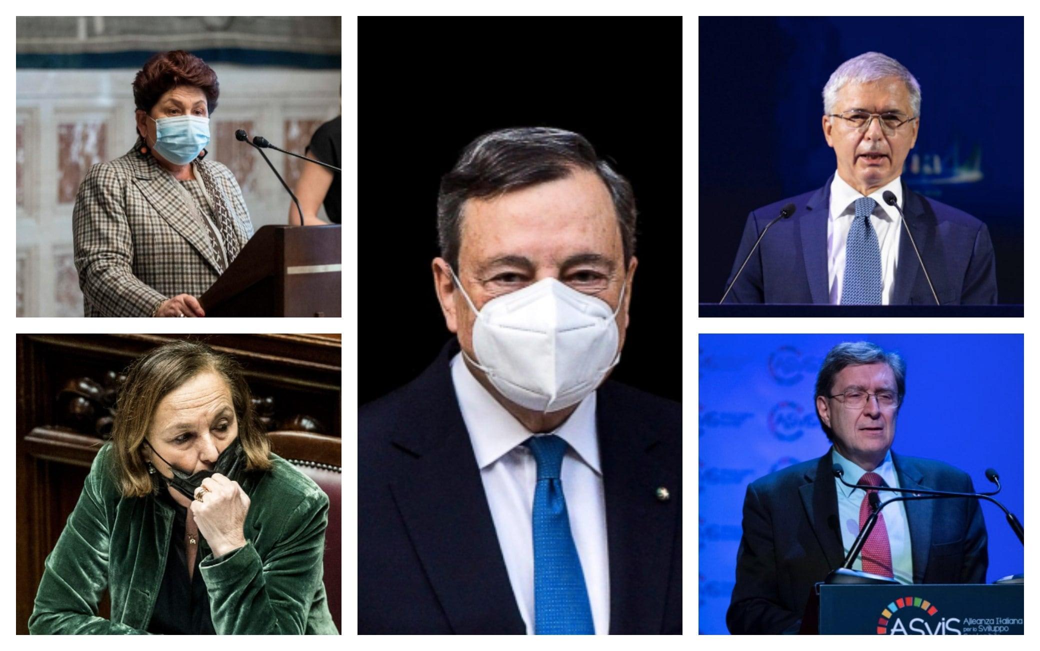 Governo Draghi: chi sono i possibili ministri del suo esecutivo