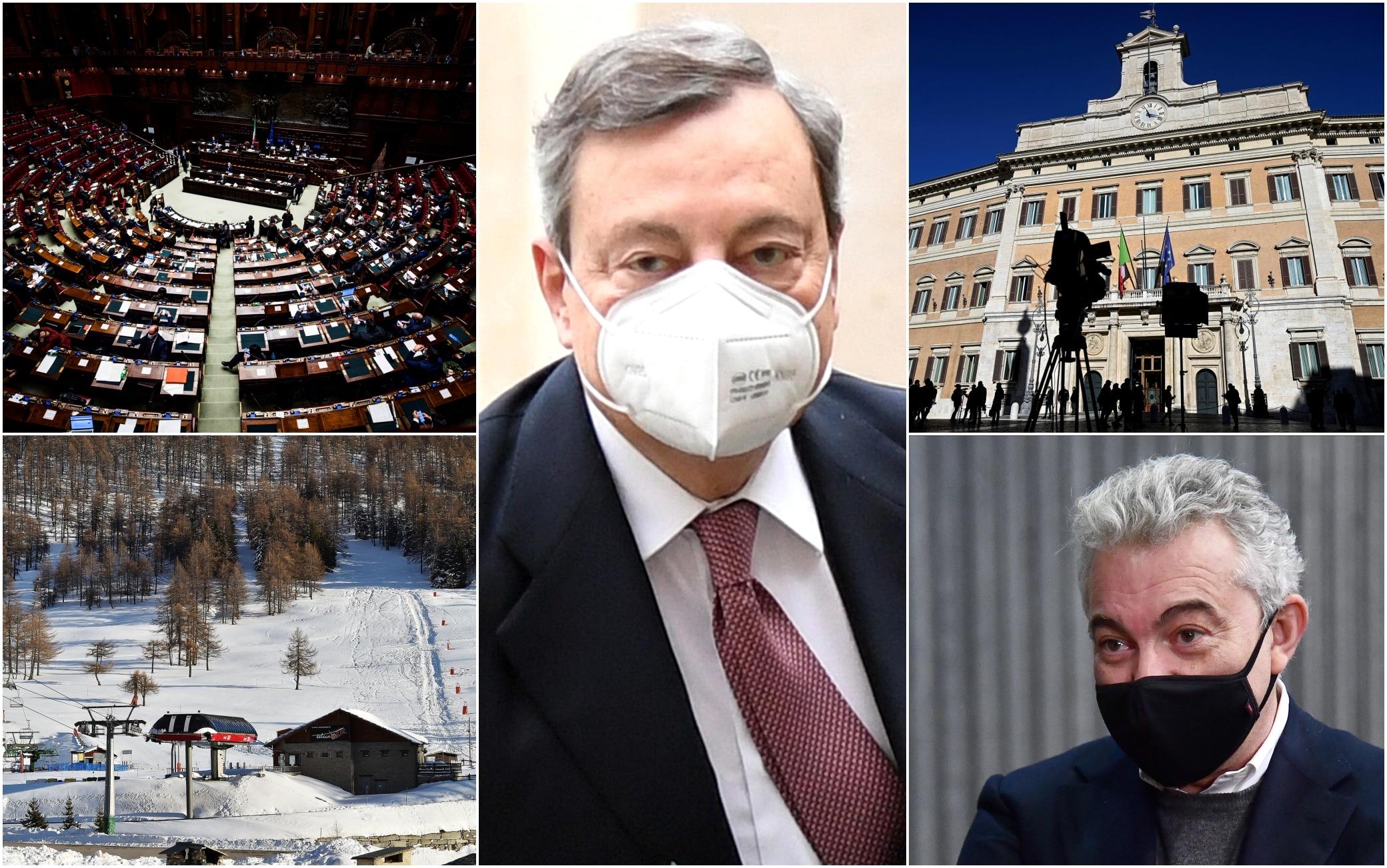 Governo Draghi, dalla fiducia alle misure anti-Covid: il programma