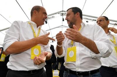 """Governo, incontro Salvini-Zingaretti: """"Clima collaborativo"""""""