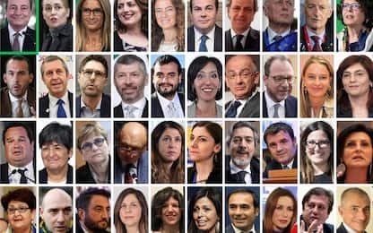 Governo Draghi, il giuramento dei 39 sottosegretari a Palazzo Chigi