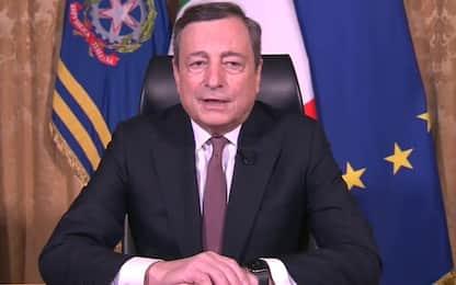 """Draghi: """"Fermare divario Nord-Sud, recuperare fiducia in legalità"""""""