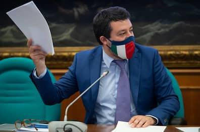 """Covid, Salvini sulle riaperture: """"Si prenda atto dei dati scientifici"""""""