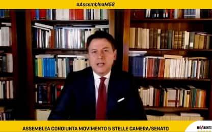 """M5S, Conte: """"Ho accettato sfida, rifonderemo il Movimento"""""""