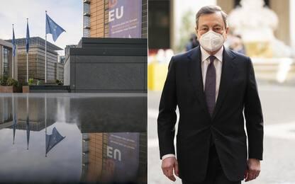 Covid, Draghi stringe sul Recovery: il 30 aprile sarà inviato a Ue