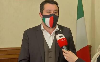 """Decreto Covid, Salvini a Sky TG24: """"Rinnovare coprifuoco è devastante"""""""