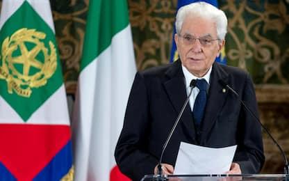 1 maggio, Mattarella: lavoro porterà Paese fuori da emergenza