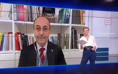 "Bagnai a Sky TG24: ""Fedez-Salvini? Lega difende libertà"""