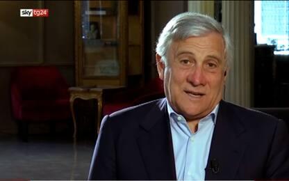"""Tajani a Sky TG24: """"Riforma giustizia difficile in questa maggioranza"""""""