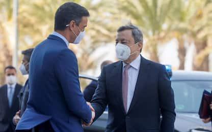 """Covid, Draghi: """"Italia torna a crescere, ma fine ancora lontana"""""""