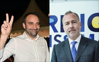 Da sinistra Stefano Lo Russo e Paolo Damilano