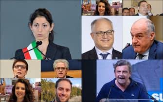 I candidati a sindaco per le elezioni amministrative di Roma 2021