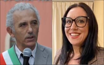 Da sinistra: Damiano Coletta e Giovanna Miele