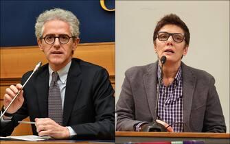 Ciani e Battaglia, candidati alle primarie del centrosinistra di Roma