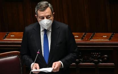 """Ddl Zan, Draghi al Senato: """"L'Italia è uno Stato laico"""""""