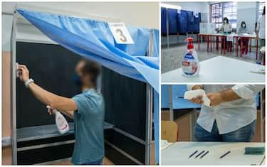 Precauzioni contro il rischio contagio per le elezioni