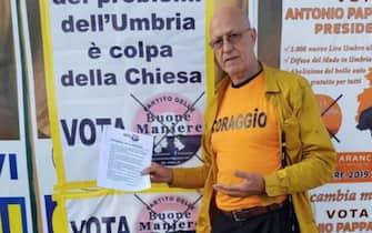 Giuseppe Cirillo, candidato a sindaco alle elezioni comunali di Roma 2021