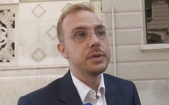 Arlon Stok, candidato a sindaco di Trieste con la lista civica Podemo